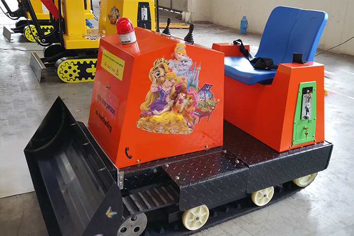 Children's Amusement Equipment of Wolwa Group: Be Exported Abroad for the first time