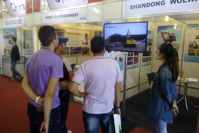 Wolwa Group participate in Brazil international construction machinery exhibition 2015