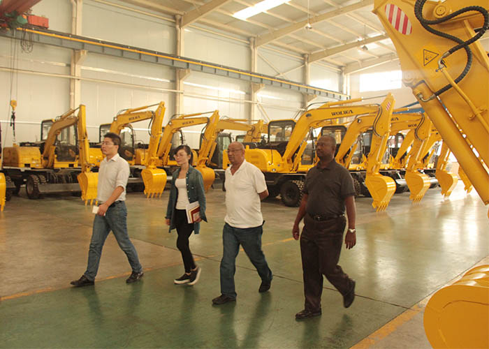 Ethiopia Customers Paid A Visit to Wolwa Group