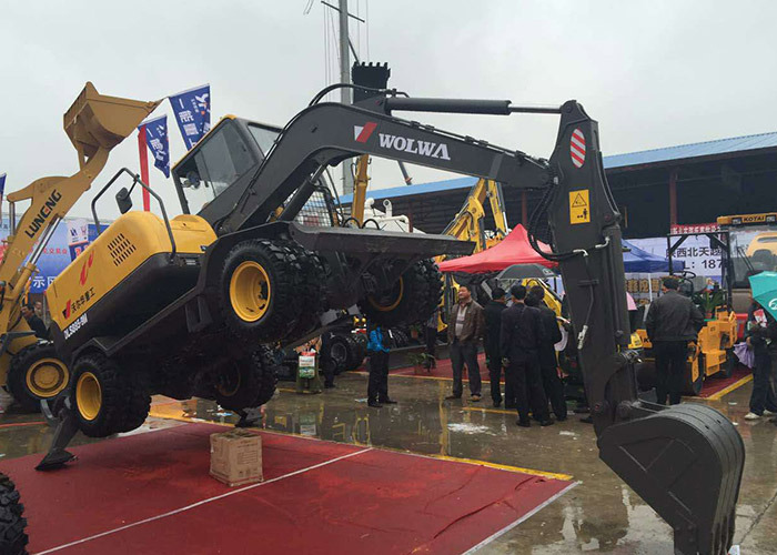 Wolwa Group participate in Chinese farmers exhibition with its star products