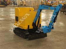 WRT-90D Double seat kid amusement excavator