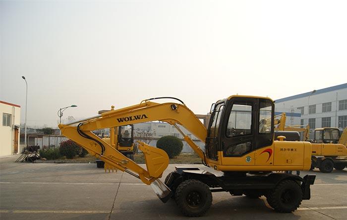 DLS100-9A 9.7wheeled hydraulic