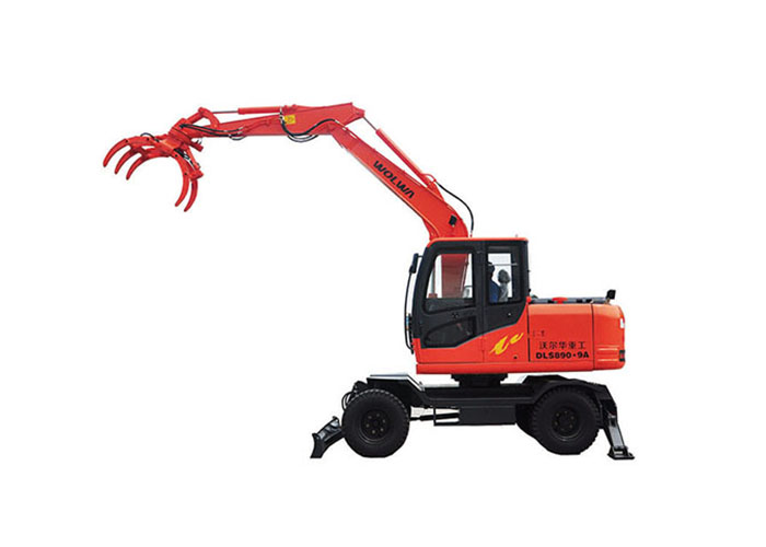DLS890-9A wheel cane wood loader
