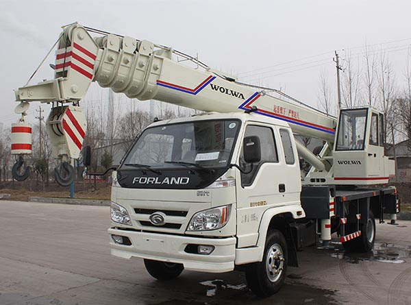 Wolwa GNQY-C10 10 tons Automobile crane