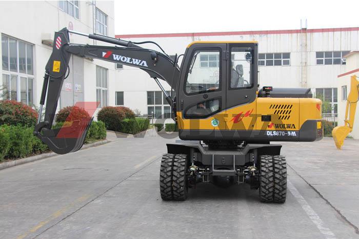 DLS870-9M wheel excavator